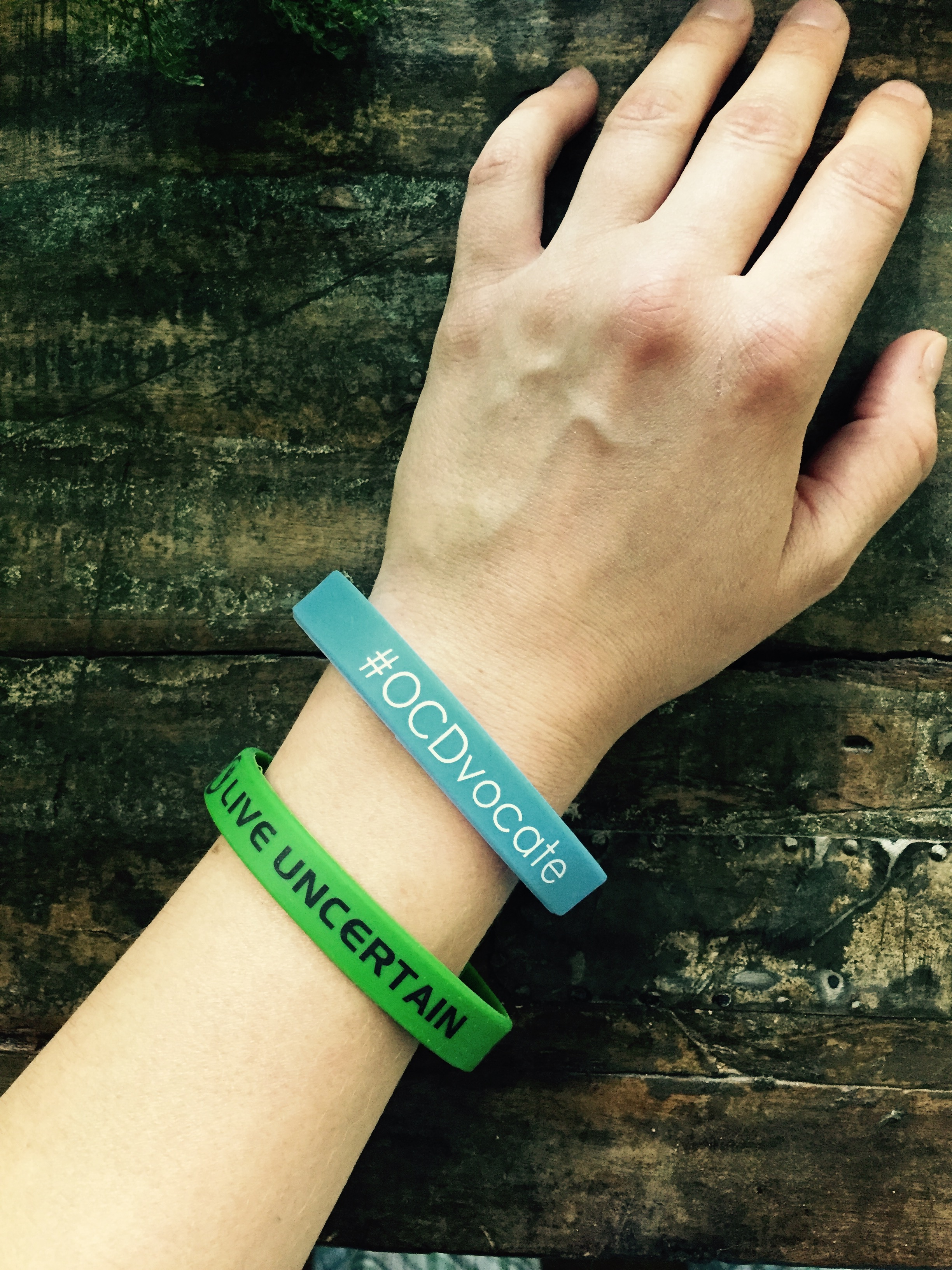 awareness ocd allergy adult food ribbon teal bracelet magnet wristband