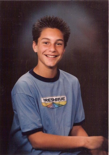 Chris school photo