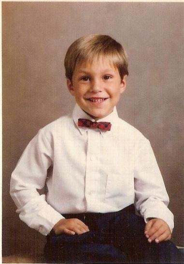 Chris at age 5