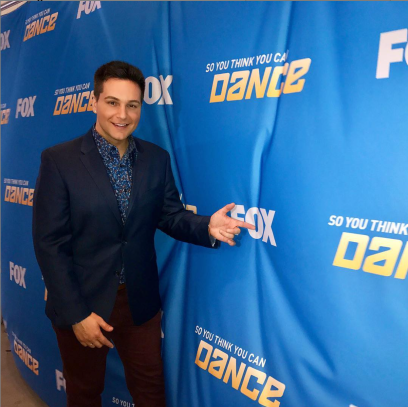 Chris at an event for So You Think You Can Dance